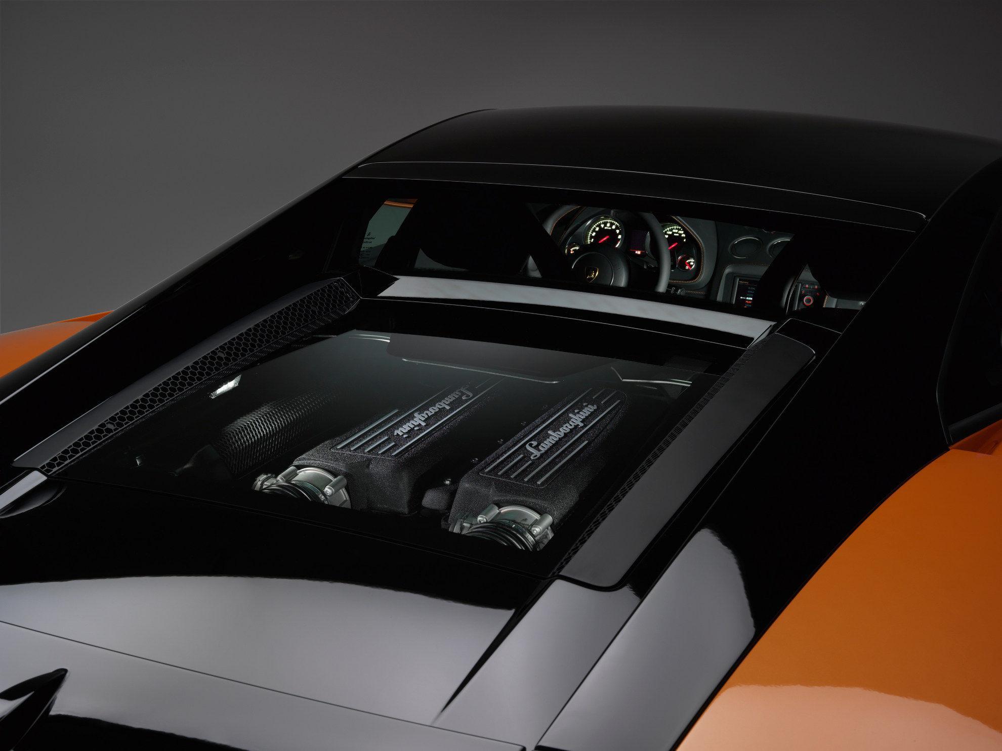 Lamborghini Gallardo-LP-560-4 Bicolore - Motor