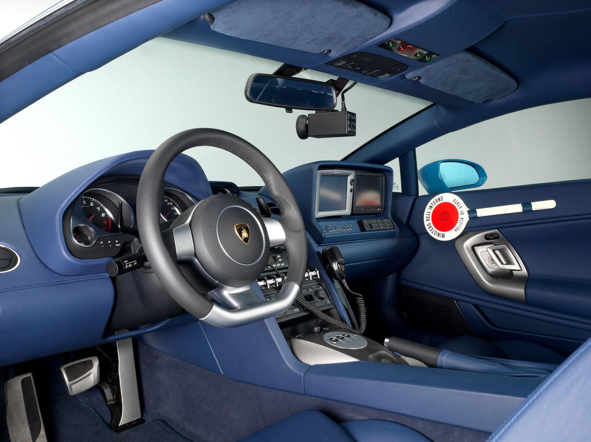 Lamborghini Gallardo LP 560-4 Polizia - Innenraum