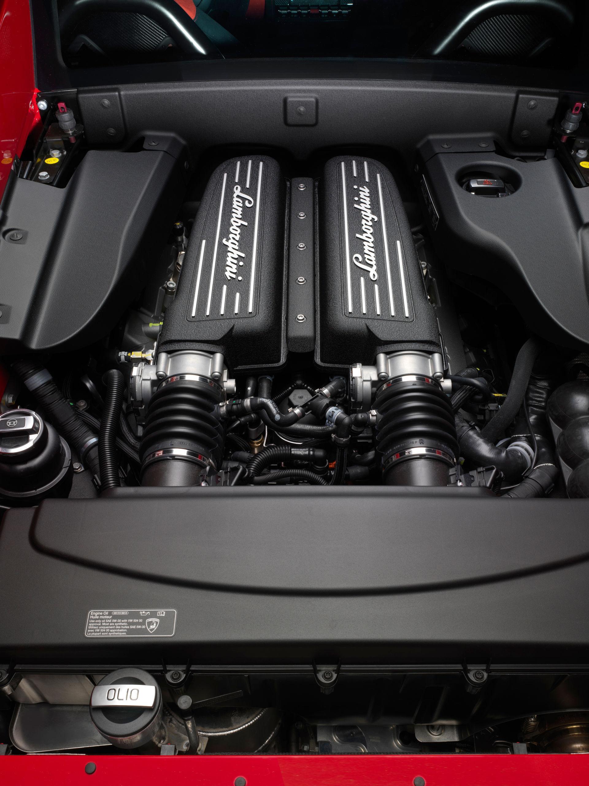 Lamborghini Gallardo LP 570-4 Super Trofeo Stradale - Motor