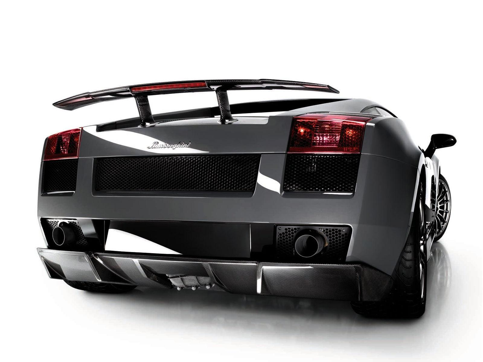 Lamborghini Gallardo Superleggera - Heckansicht
