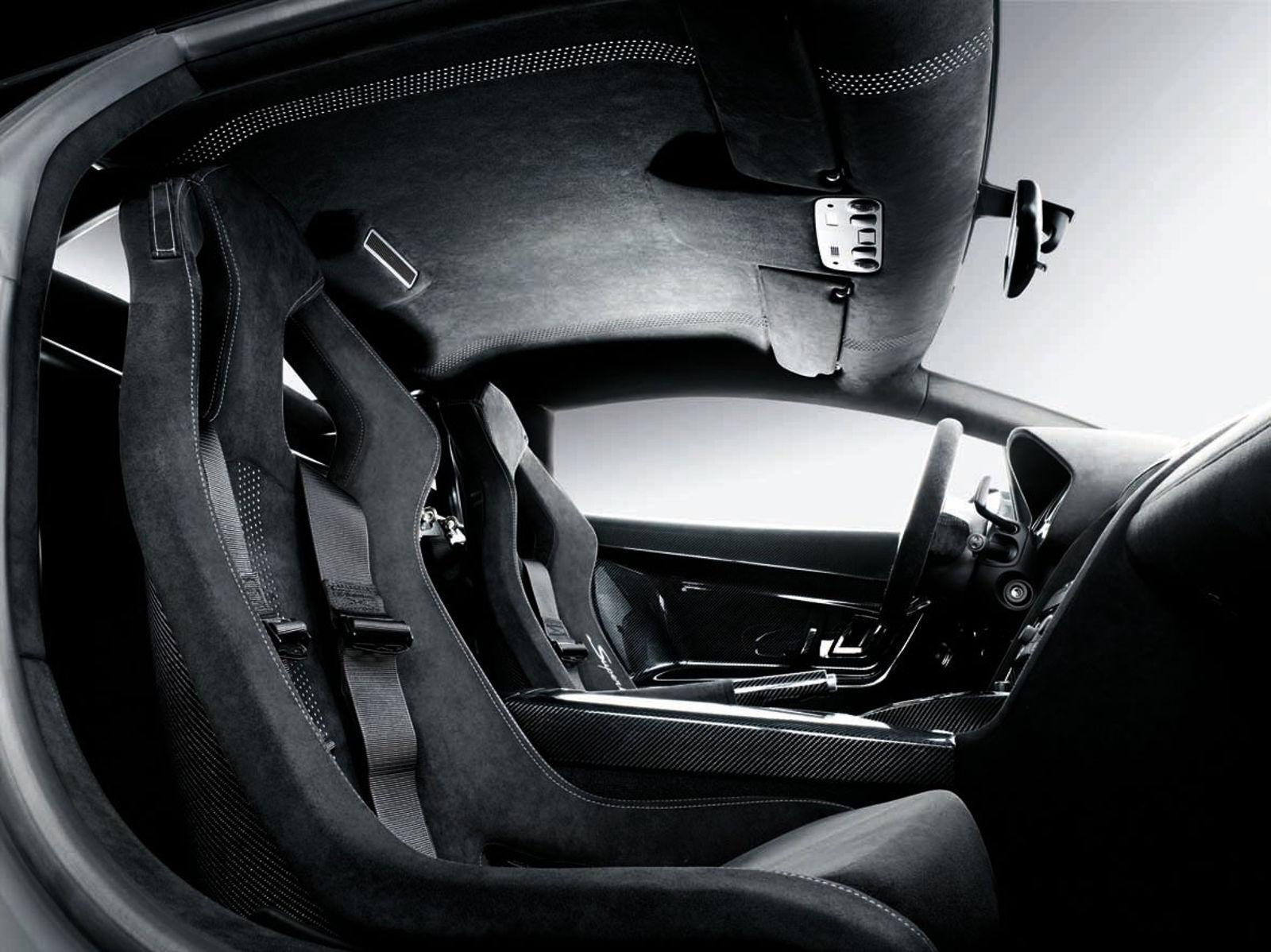 Lamborghini Gallardo Superleggera - Innenraum