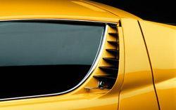 Lamborghini Miura - Lufteinlässe