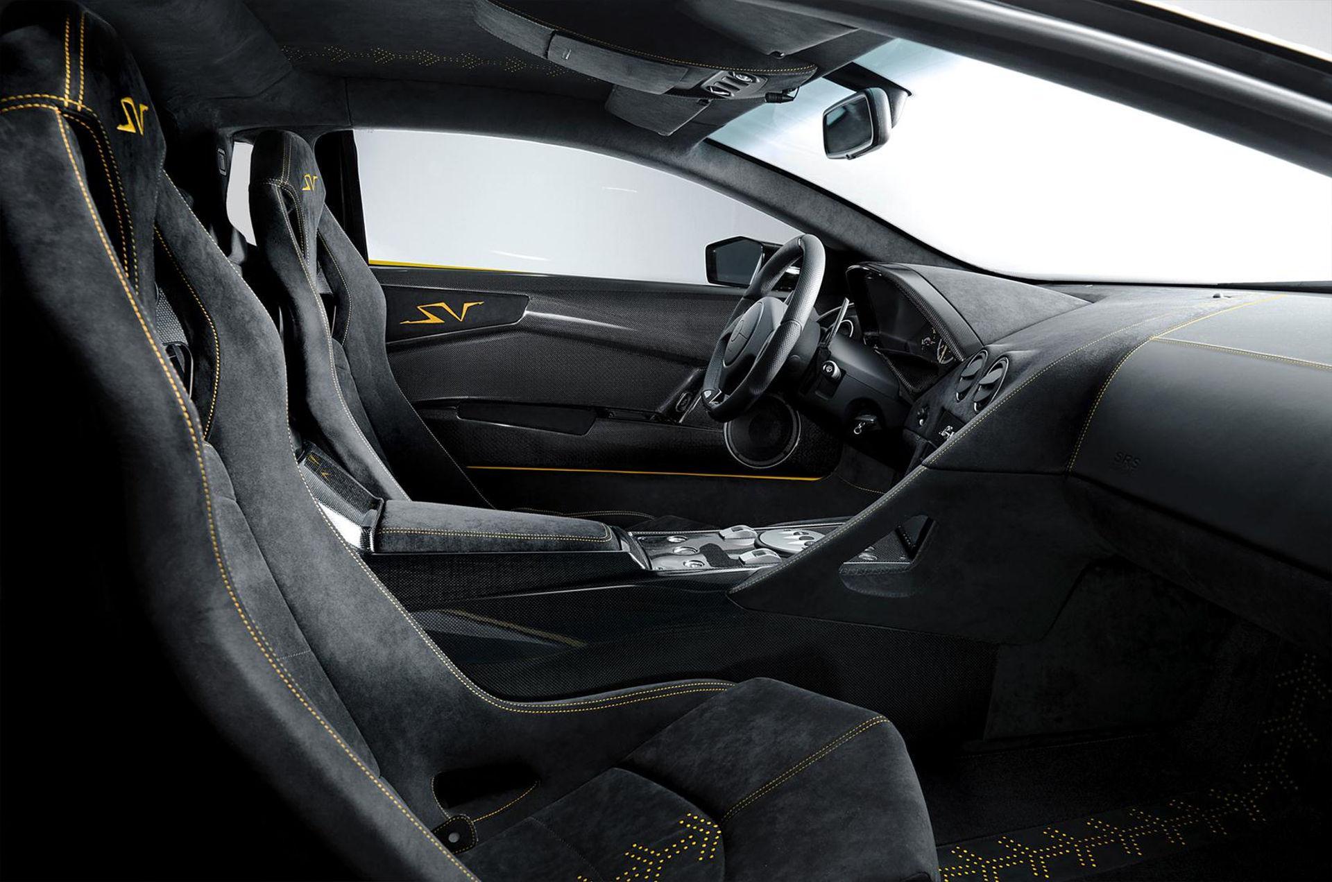Lamborghini Murciélago LP 670-4 SuperVeloce - Innenraum