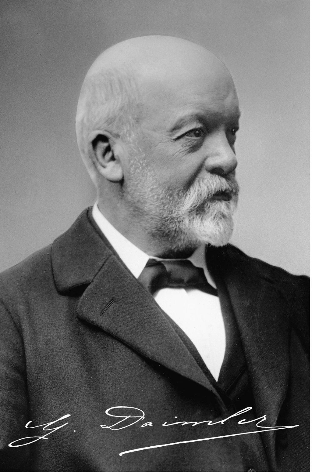 Ausführliche Geschichte über Gottlieb Daimler & Wilhelm ...