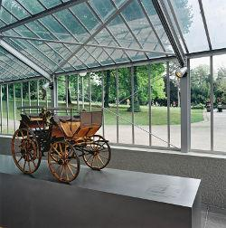 Motorkutsche Gartenhaus