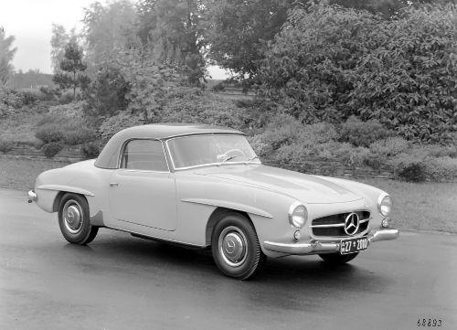 Mercedes-Benz 190 SL - Coupé