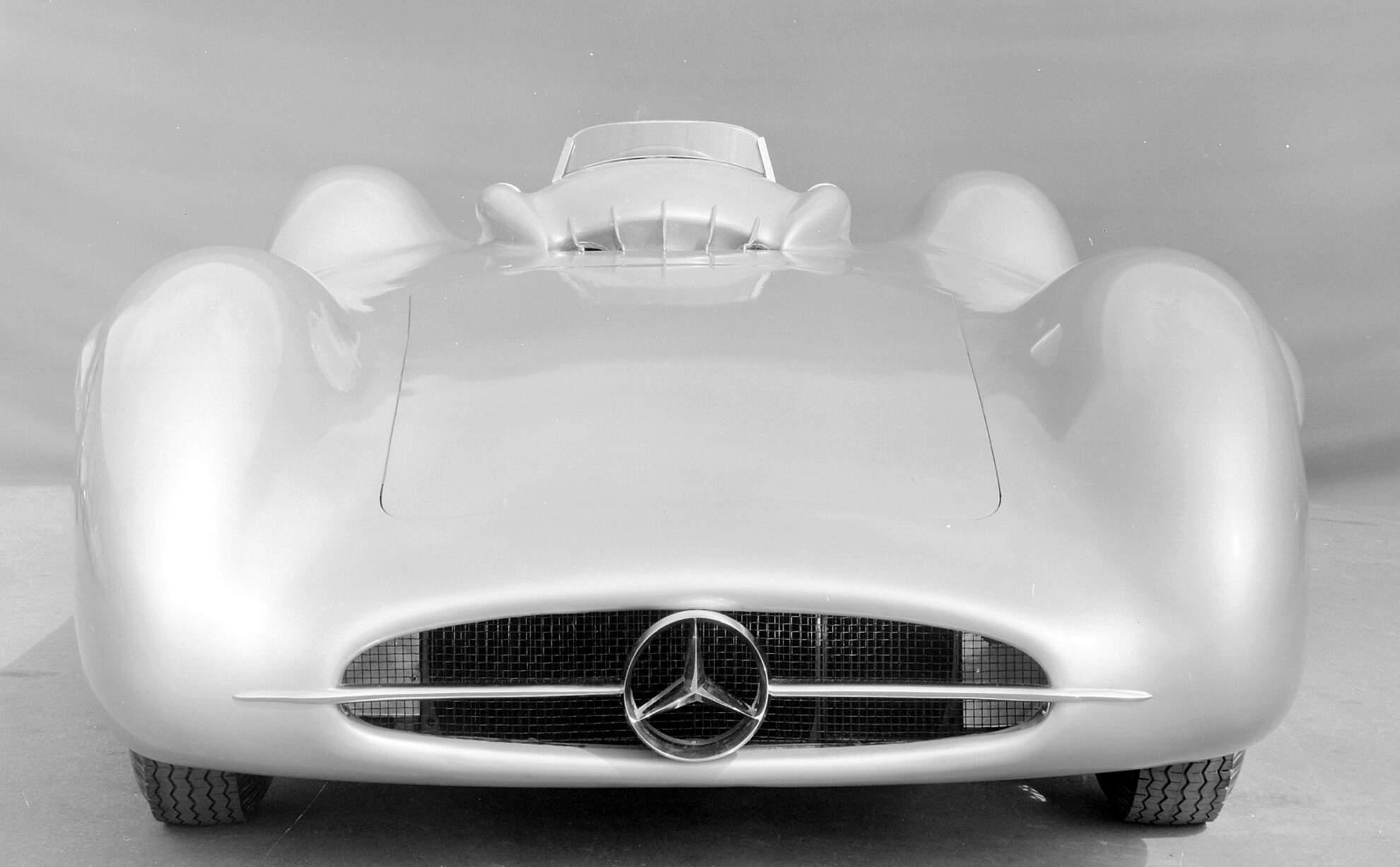 Mercedes Benz W 196 R Stromlinienkarosserie