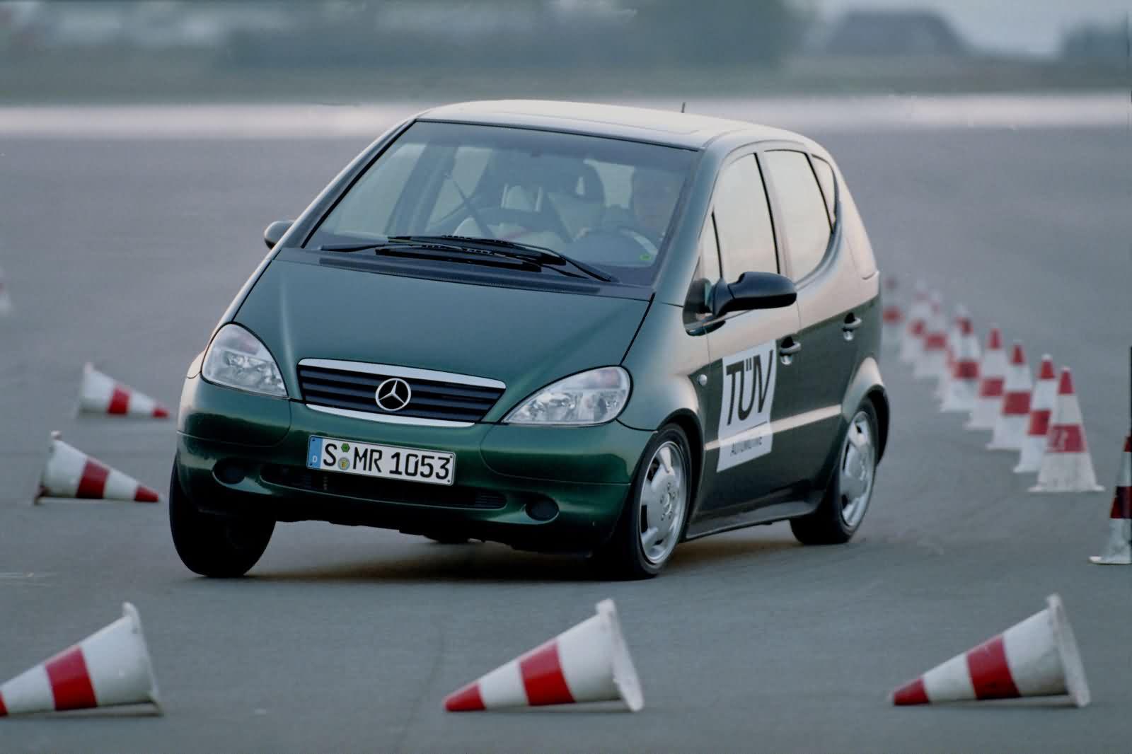 Mercedes-Benz A-Klasse - Elchtest