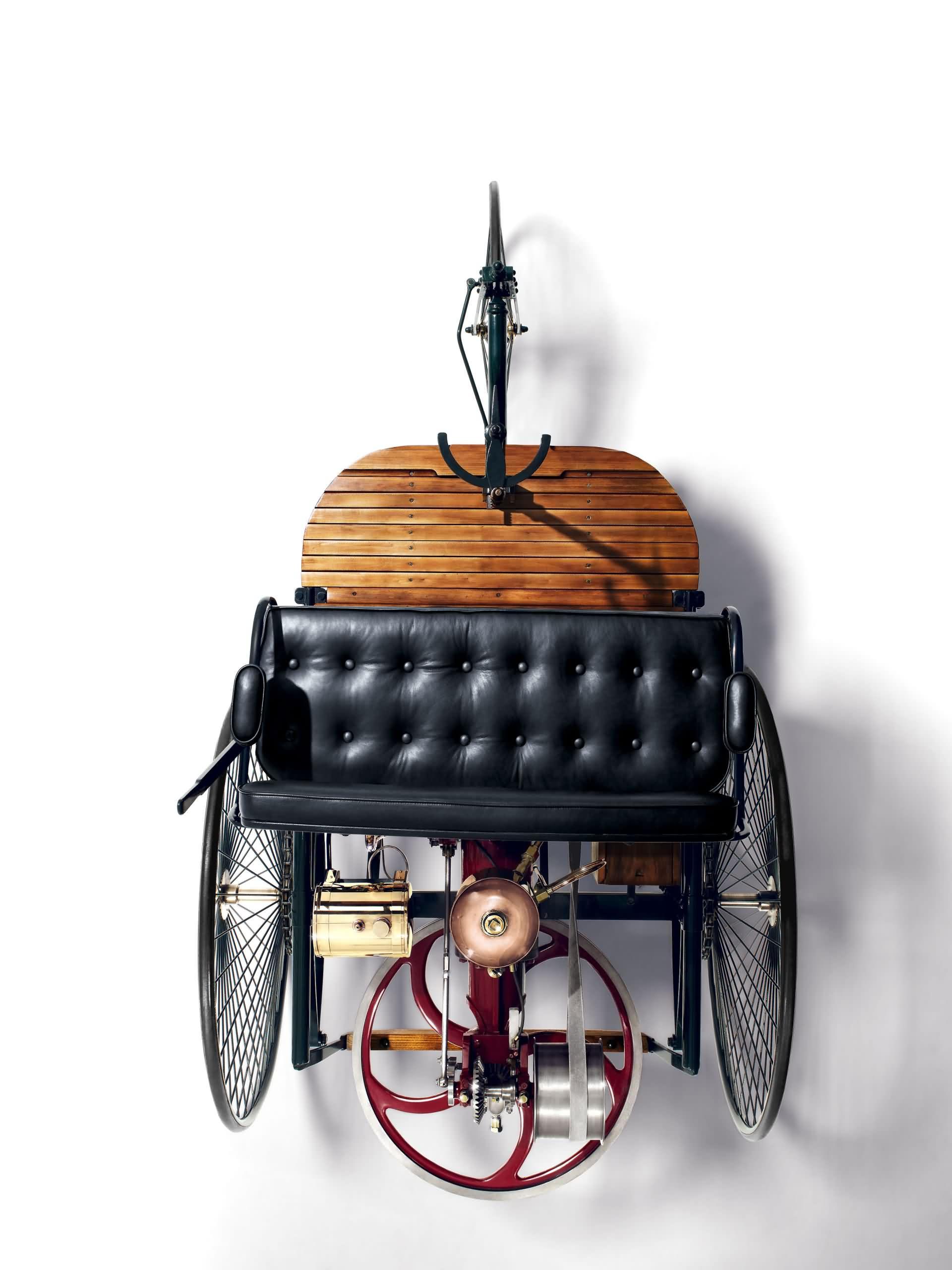 1885 - 1886 Bj. Benz Patent-Motorwagen