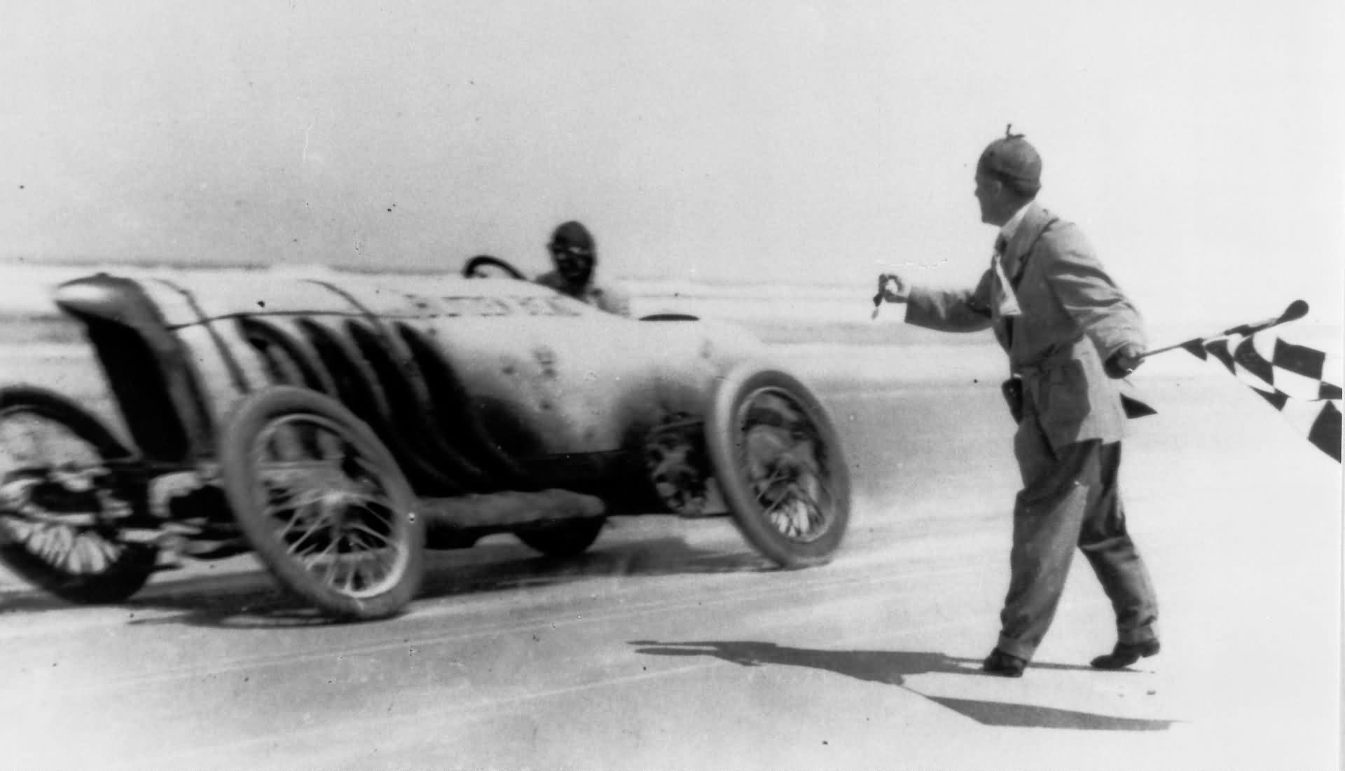 Blitzen-Benz Rekordfahrt Daytona Beach