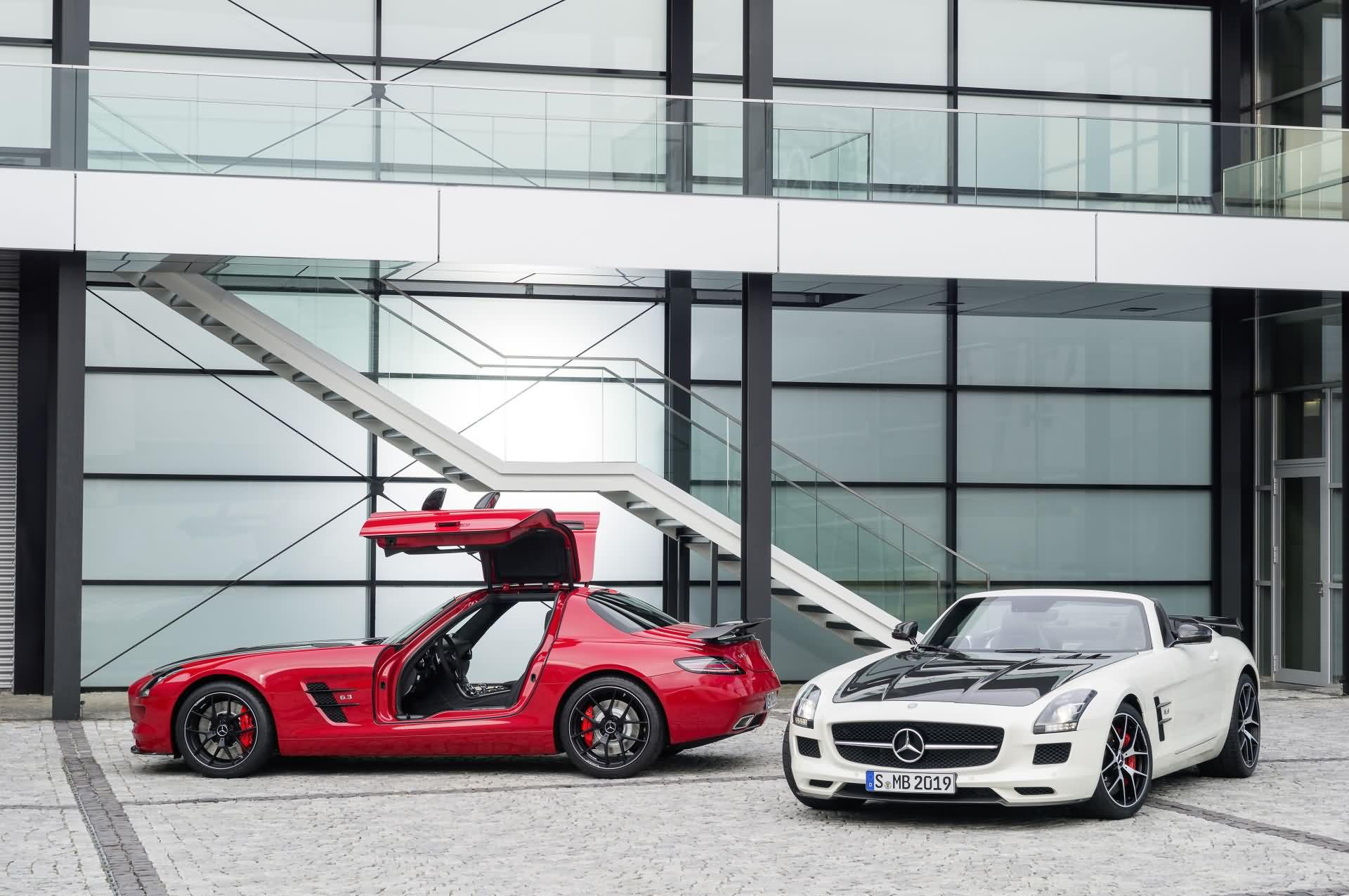 Mercedes-Benz SLS AMG - Coupe / Roadster
