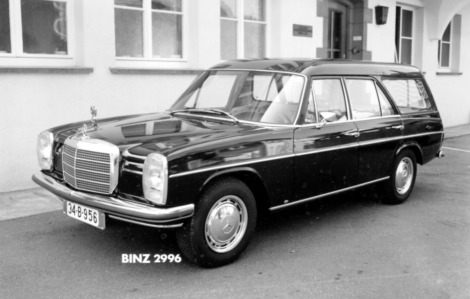 1967 1976 bj mercedes benz 8 baureihe w 115 und w 114. Black Bedroom Furniture Sets. Home Design Ideas