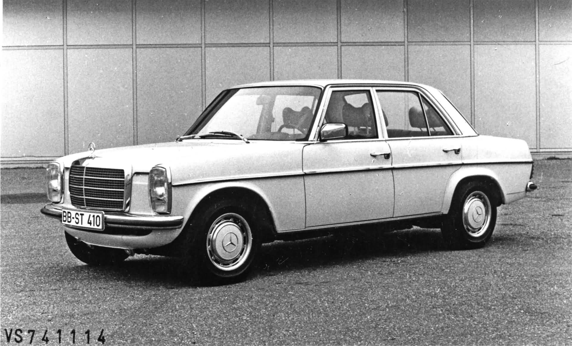Mercedes-Benz Strich-Acht - Baureihen W115 / W114