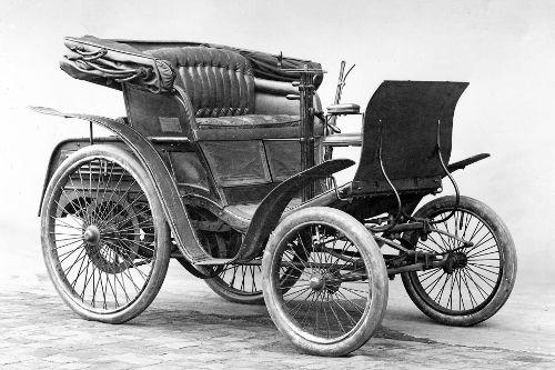 Benz Patent-Motorwagen Velociped