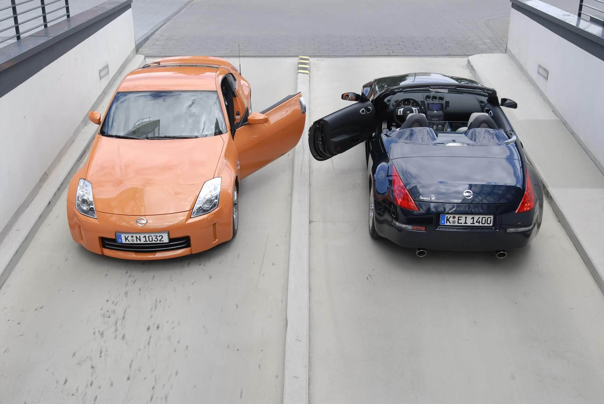 Nissan 350Z Coupe Roadster