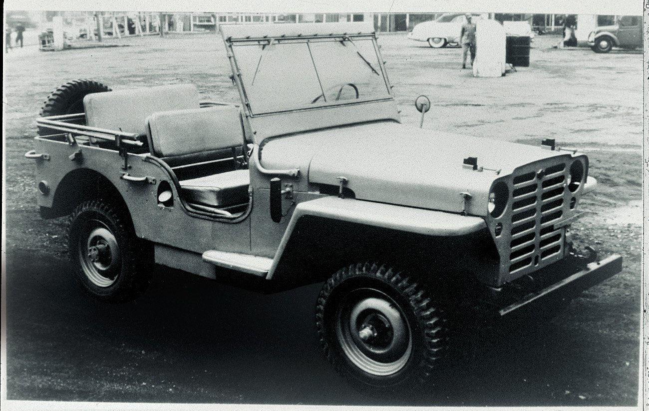 Datsun Patrol 4W60 von 1951
