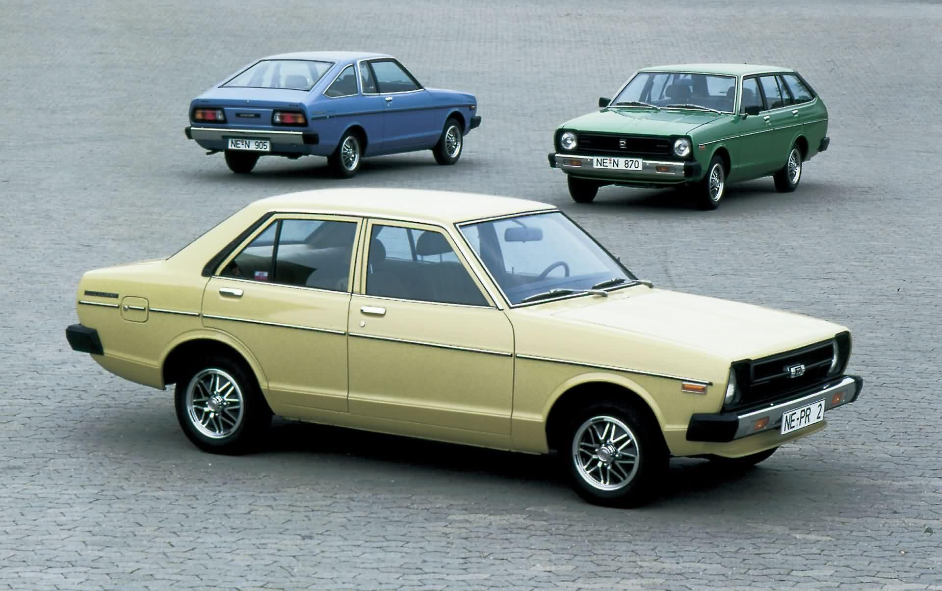 Nissan / Datsun Sunny - Modelle (1979)