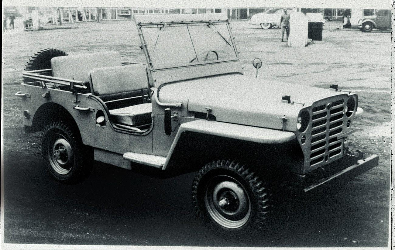 Datsun Patrol 1951 4W60