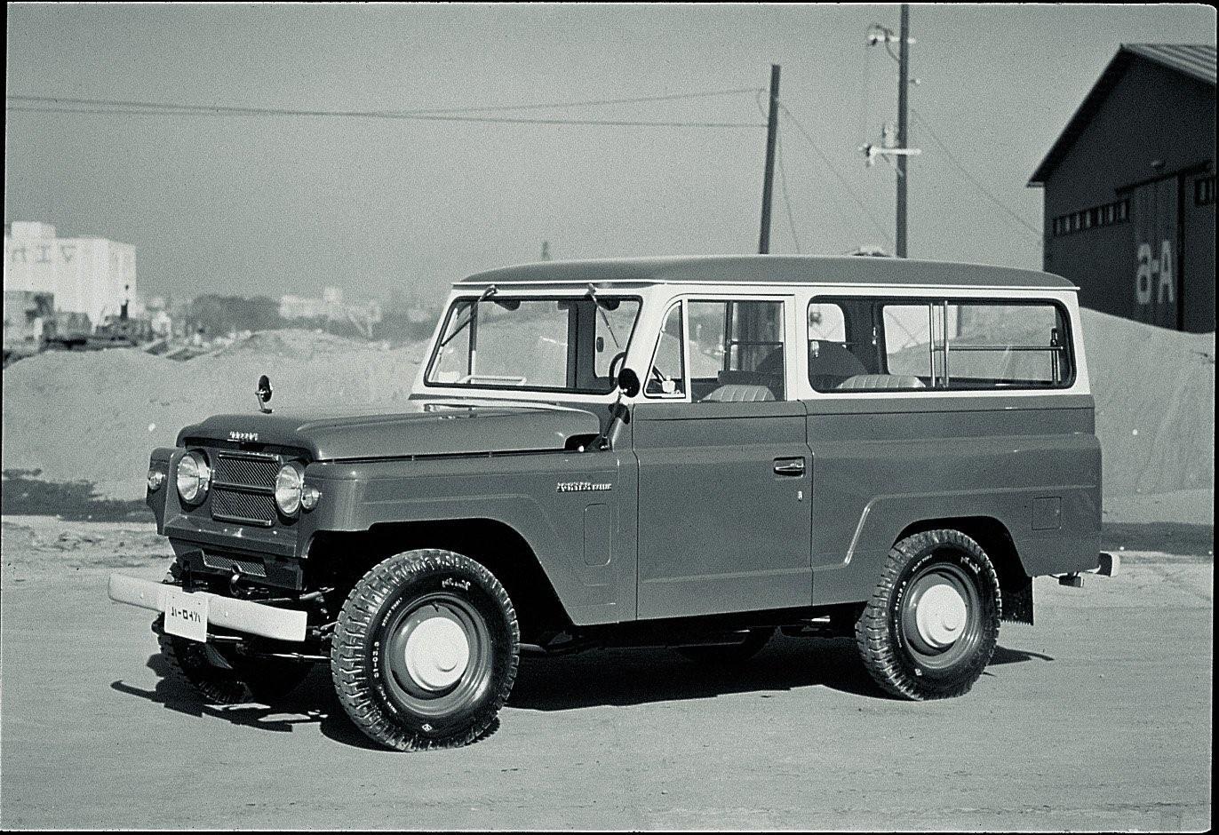 Datsun Patrol 1960 erster offizeller Patrol