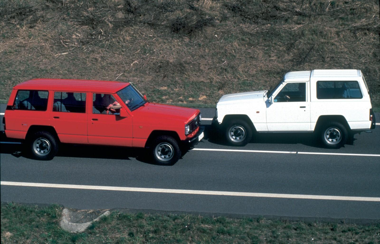Datsun Patrol Modelljahr 1981 Lang und Kurzversion