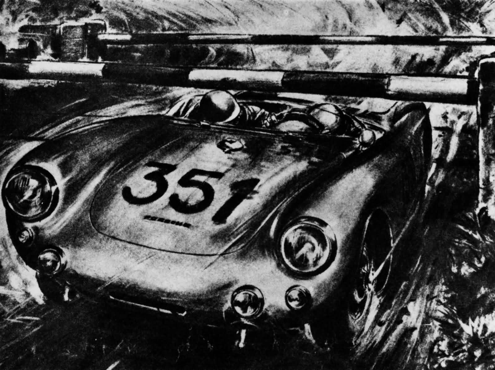 Mille Miglia Spyder 550 Hans Hermann
