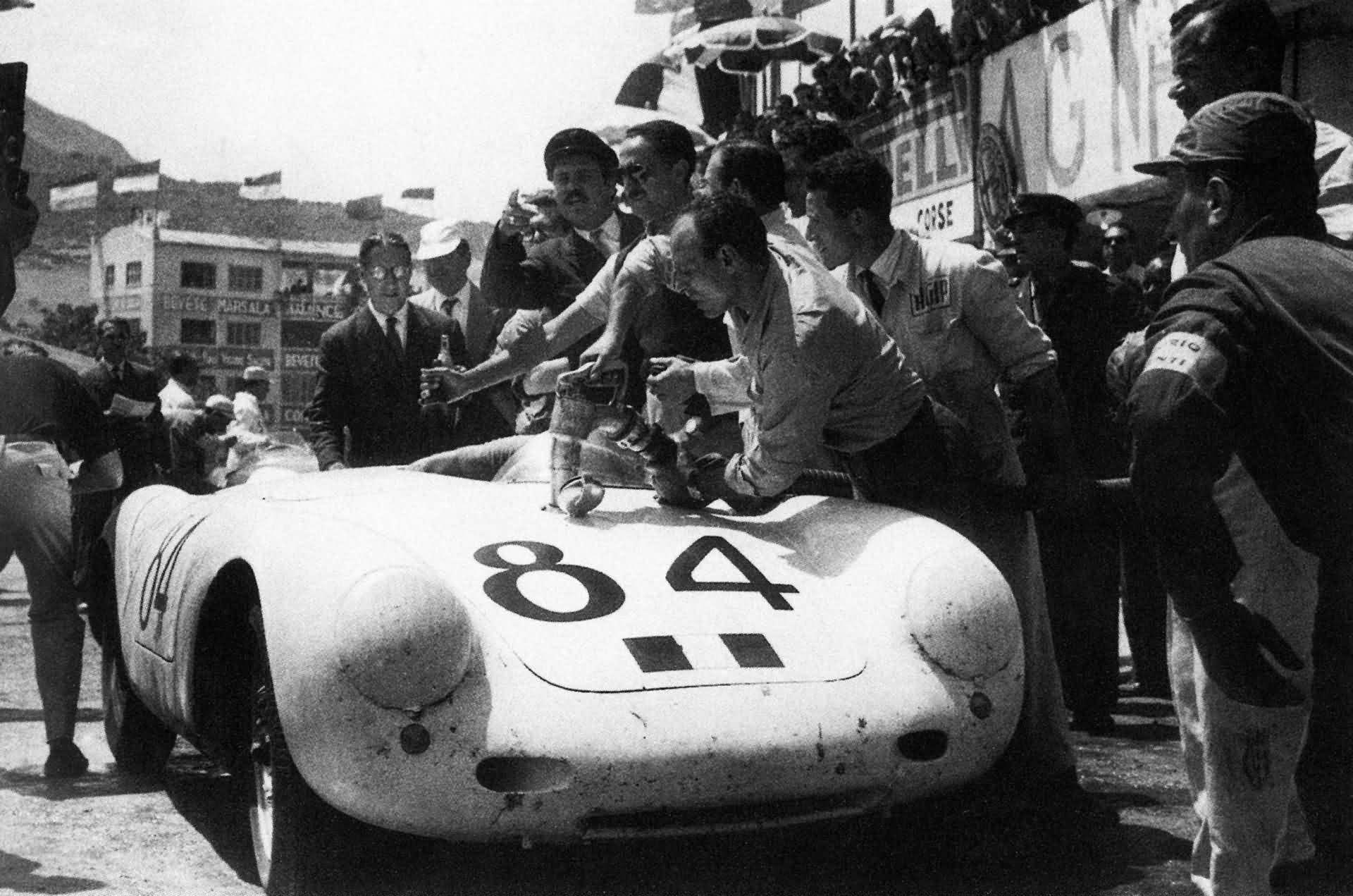 Porsche 550 Spyder Targa Florio 1956
