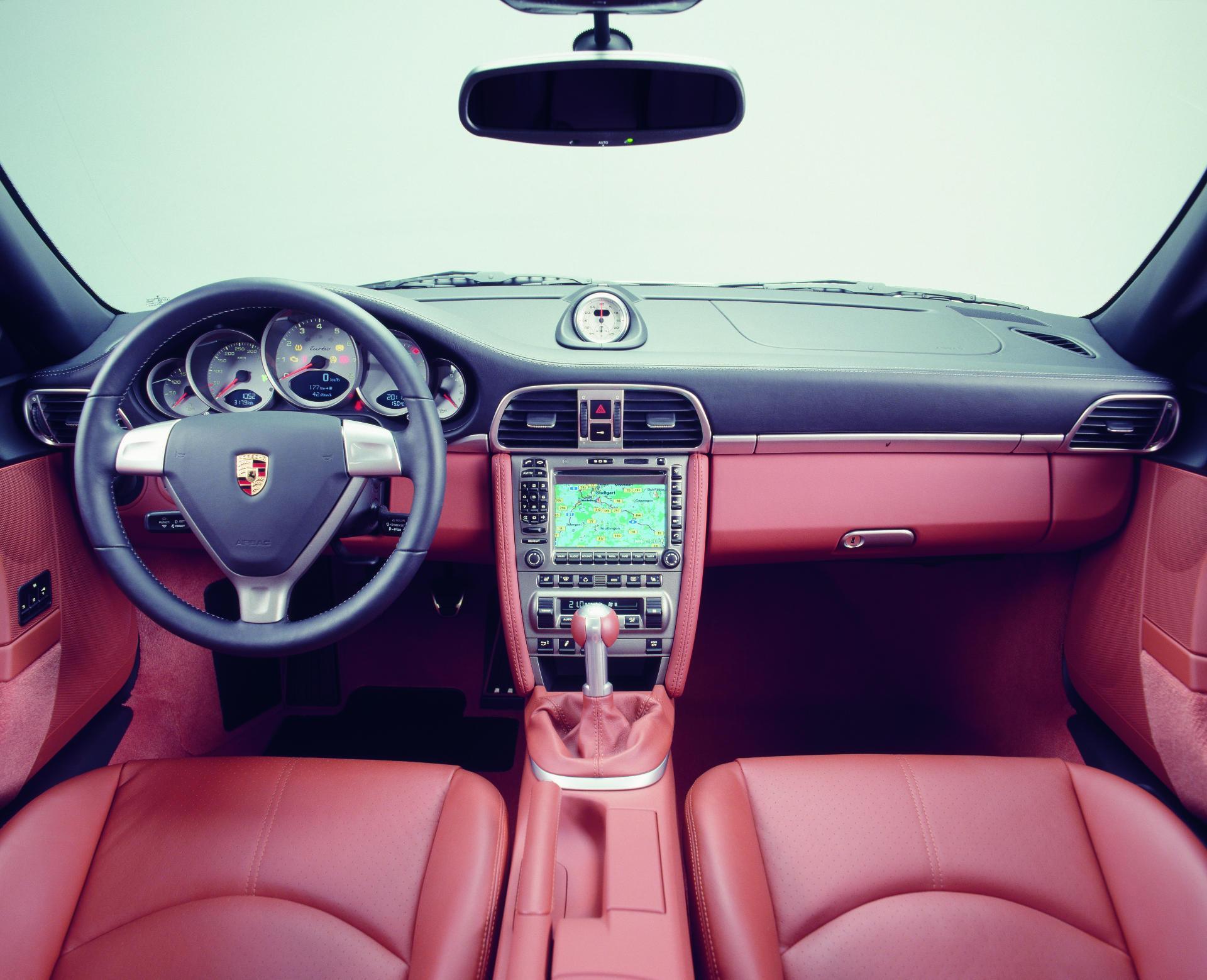 Porsche 911 Turbo - Innenraum