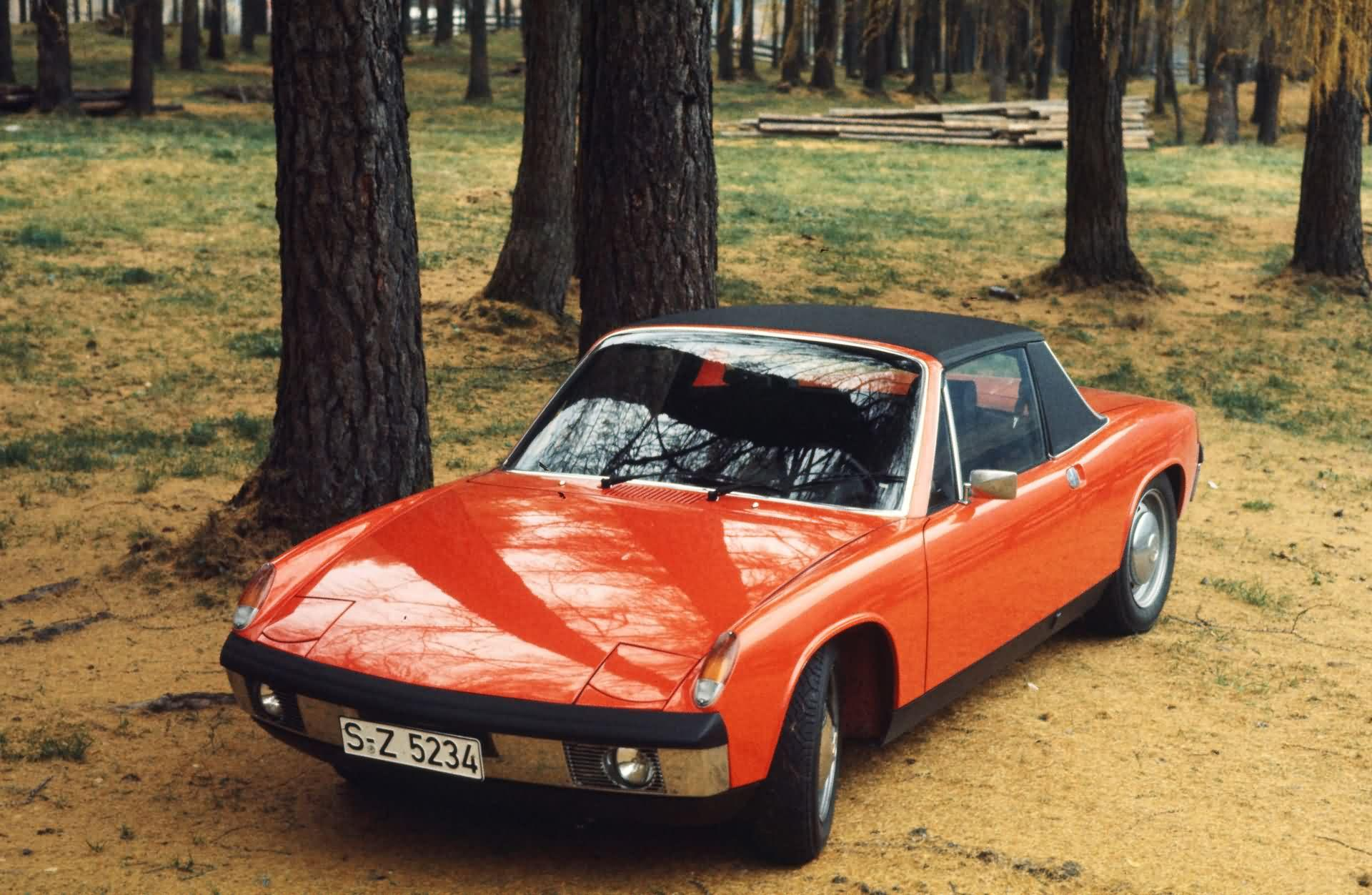 VW Porsche 914 1.7 (1969)