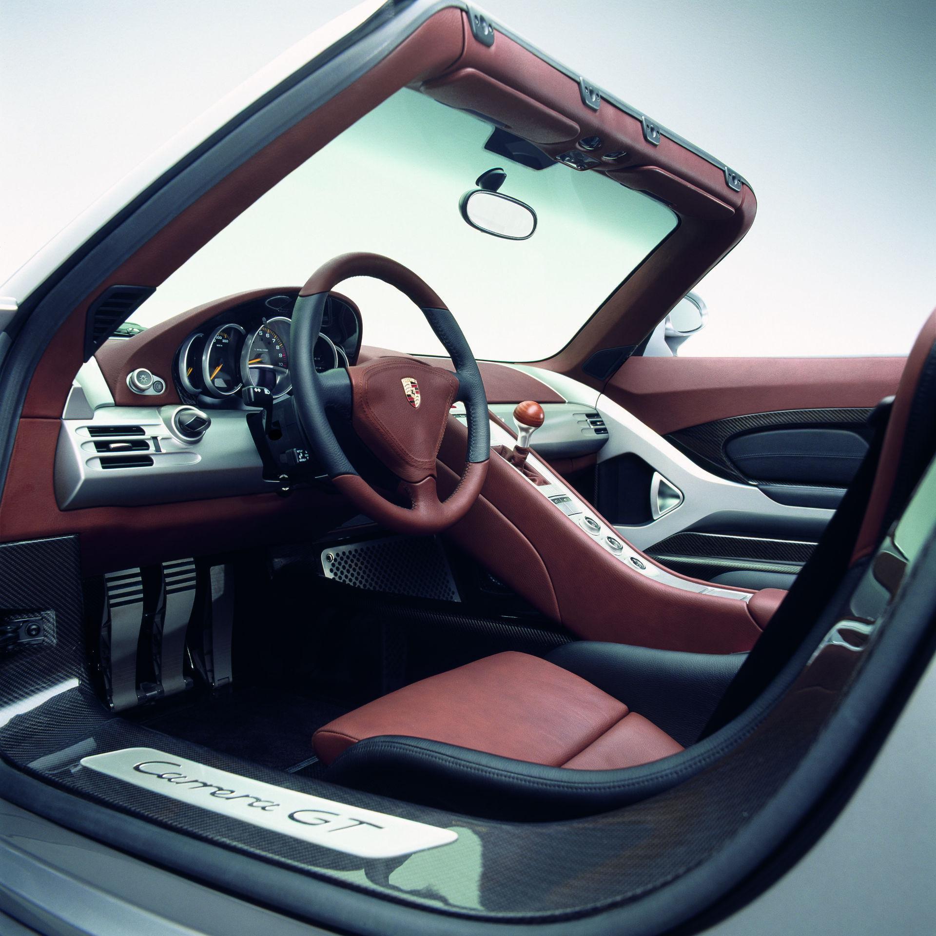 Porsche Carrera GT - Innenraum