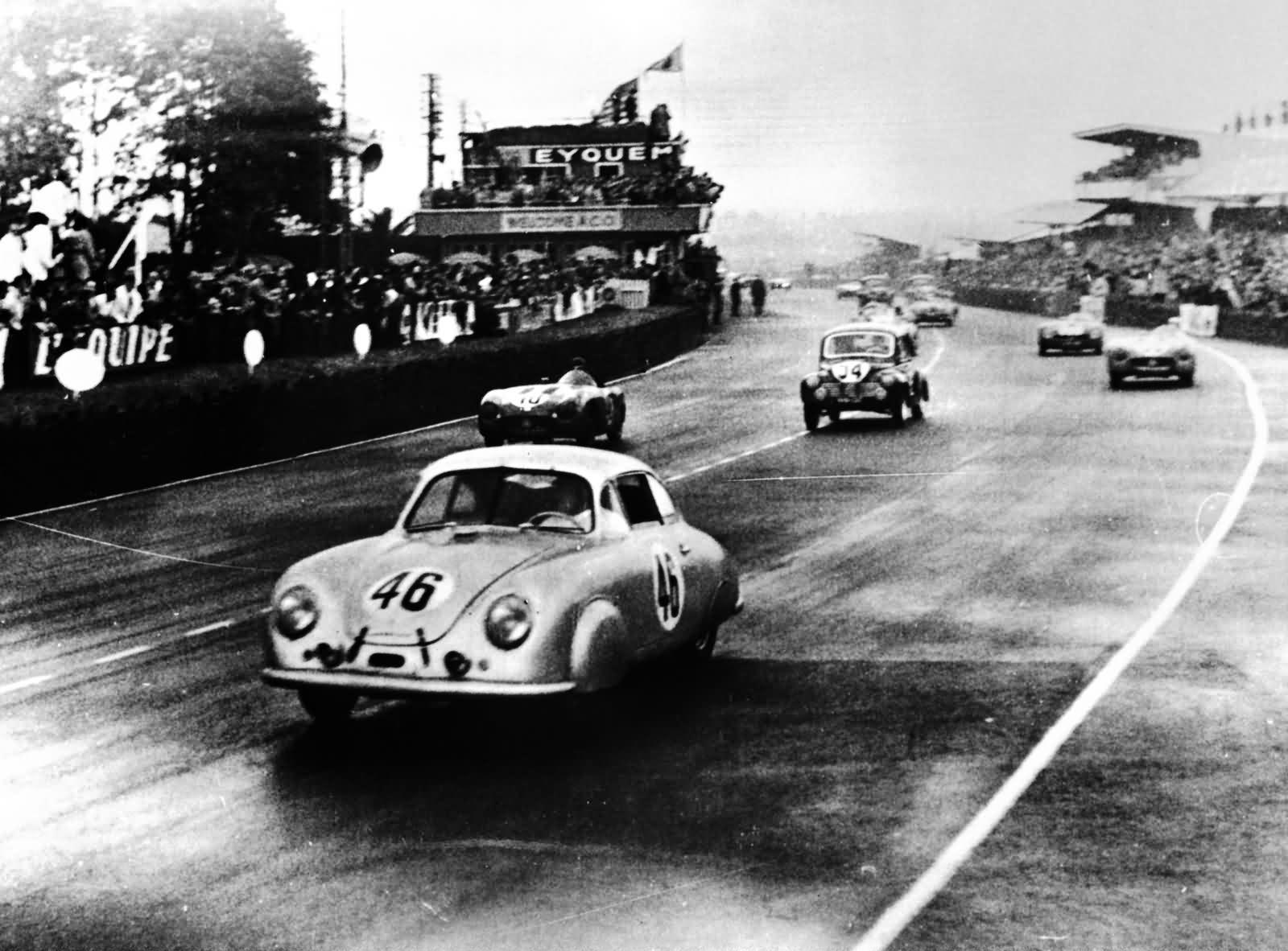 Porsche - 24 Stunden von Le Mans - 1951