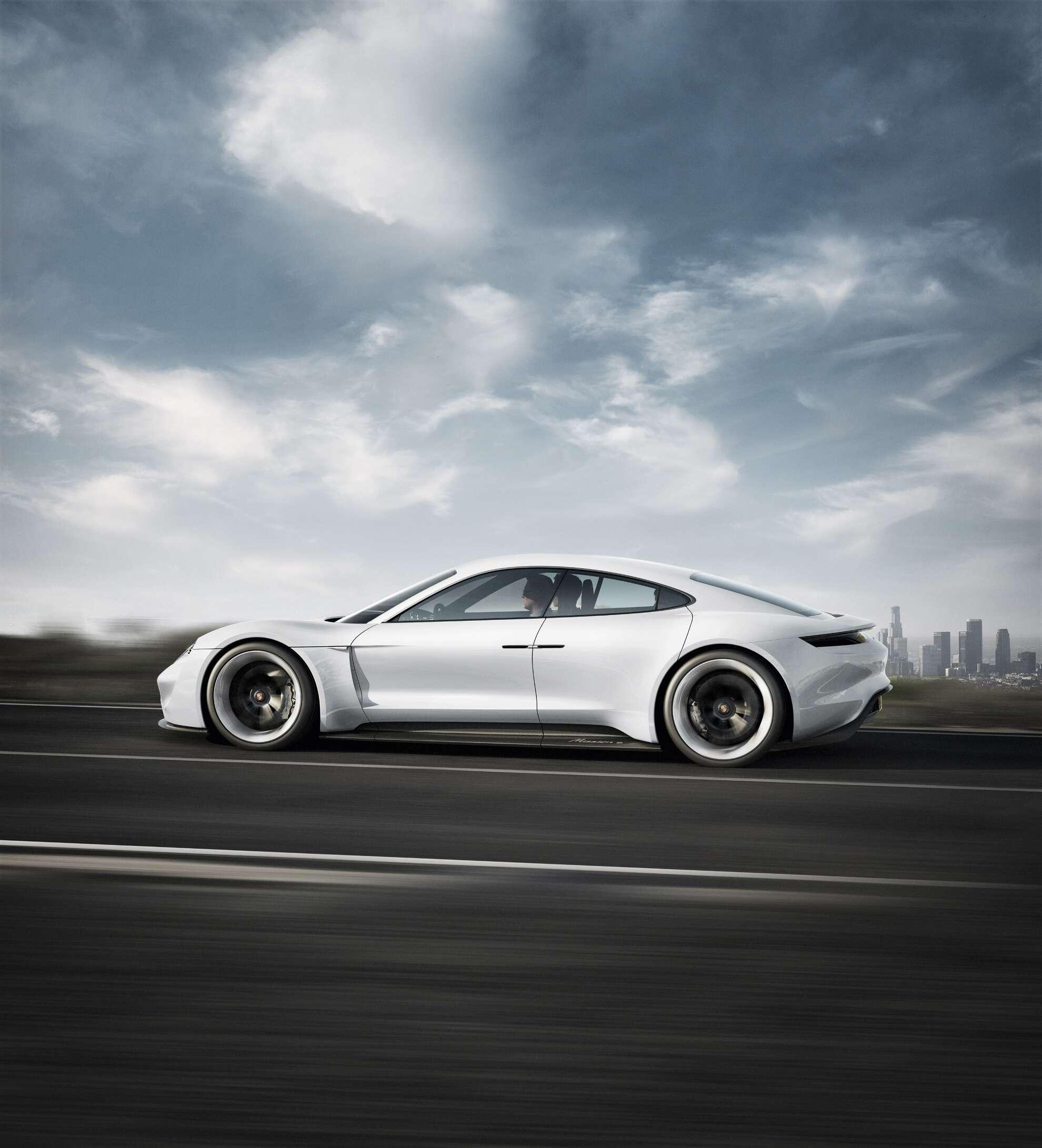 Porsche Mission E Exterieur