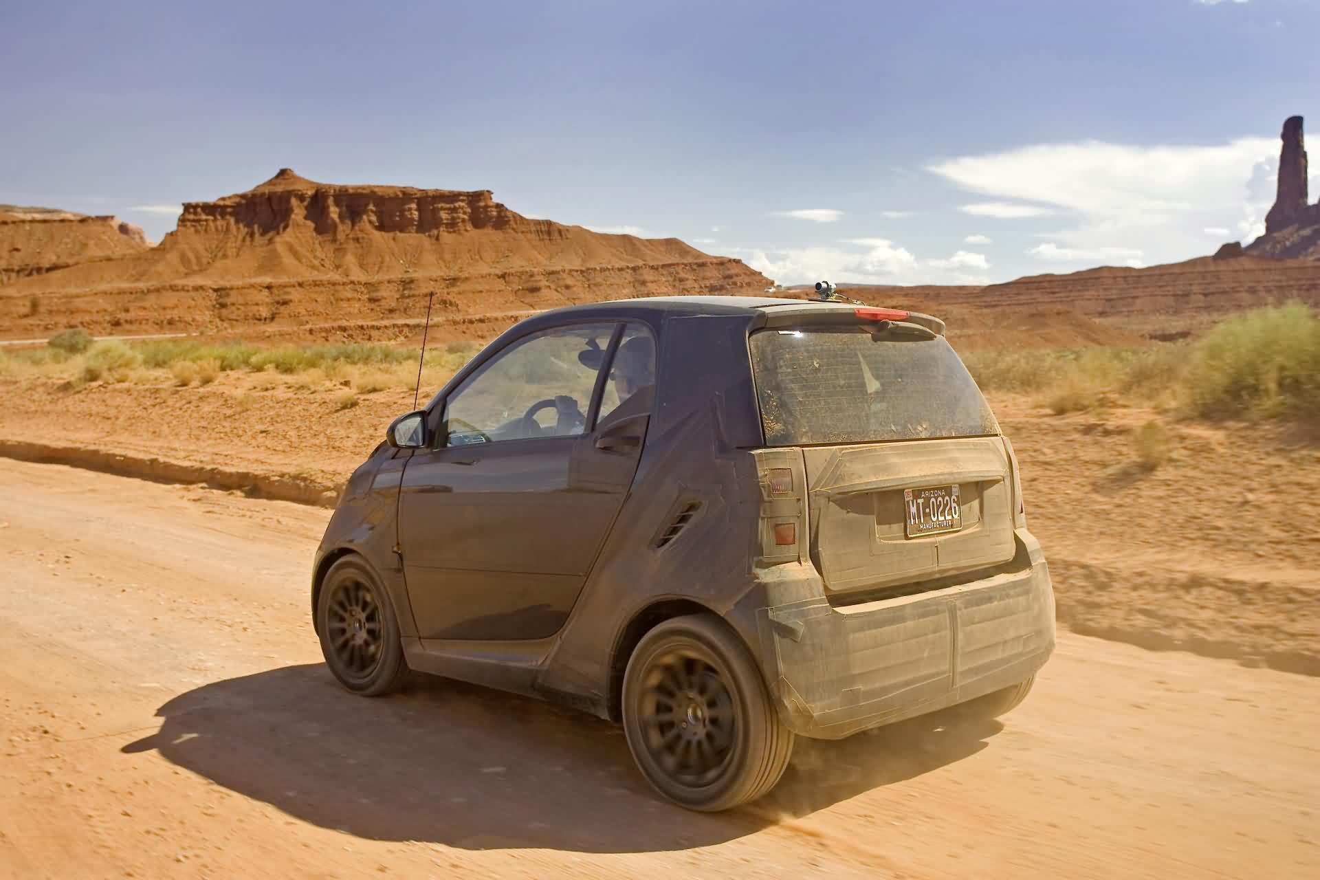 ausführliche modellbeschreibung über den smart fortwo - baureihe 450