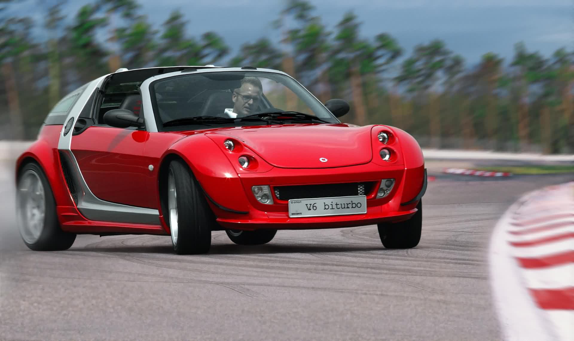 Smart Roadster Brabus V6 Biturbo