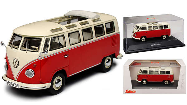 Schuco VW T1 Samba Bully Bus 1950-1967
