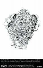 BMW-502-V8-erster-Leichtmetall-V8-Motor-