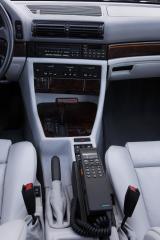 BMW-750iL-E32-Mittelkonsole