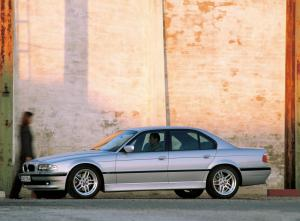 BMW-E38-740d-Seitenansicht