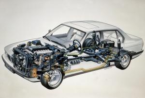 BMW-E38-750iL-Roentgenbild